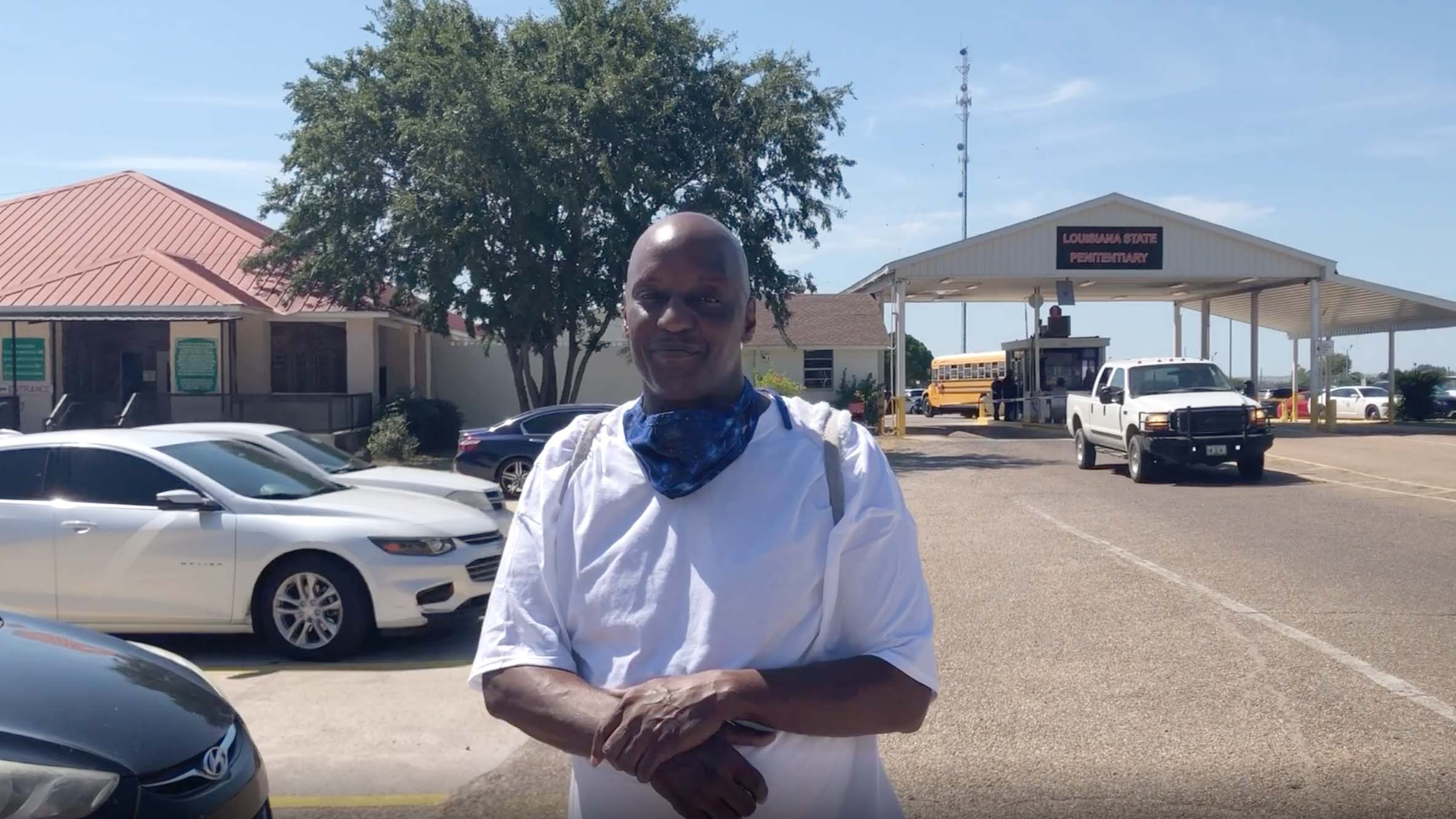 Derek Harris was freed this week after spending nearly a decade in prison for selling marijuana. (The Promise of Justice Initiative)