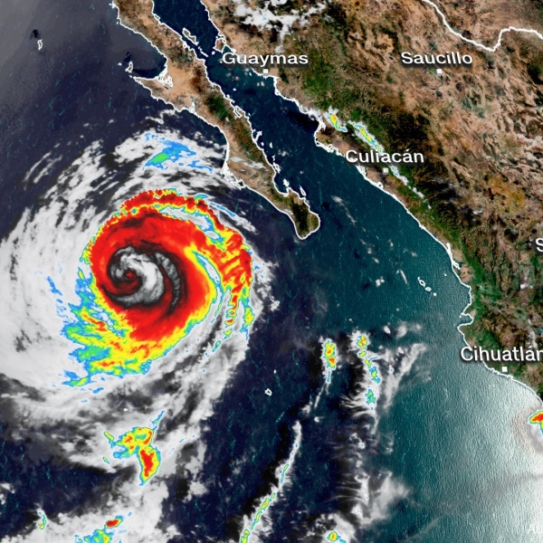 Hurricane Elida is expected to continue tracking to the northwest. (CNN)