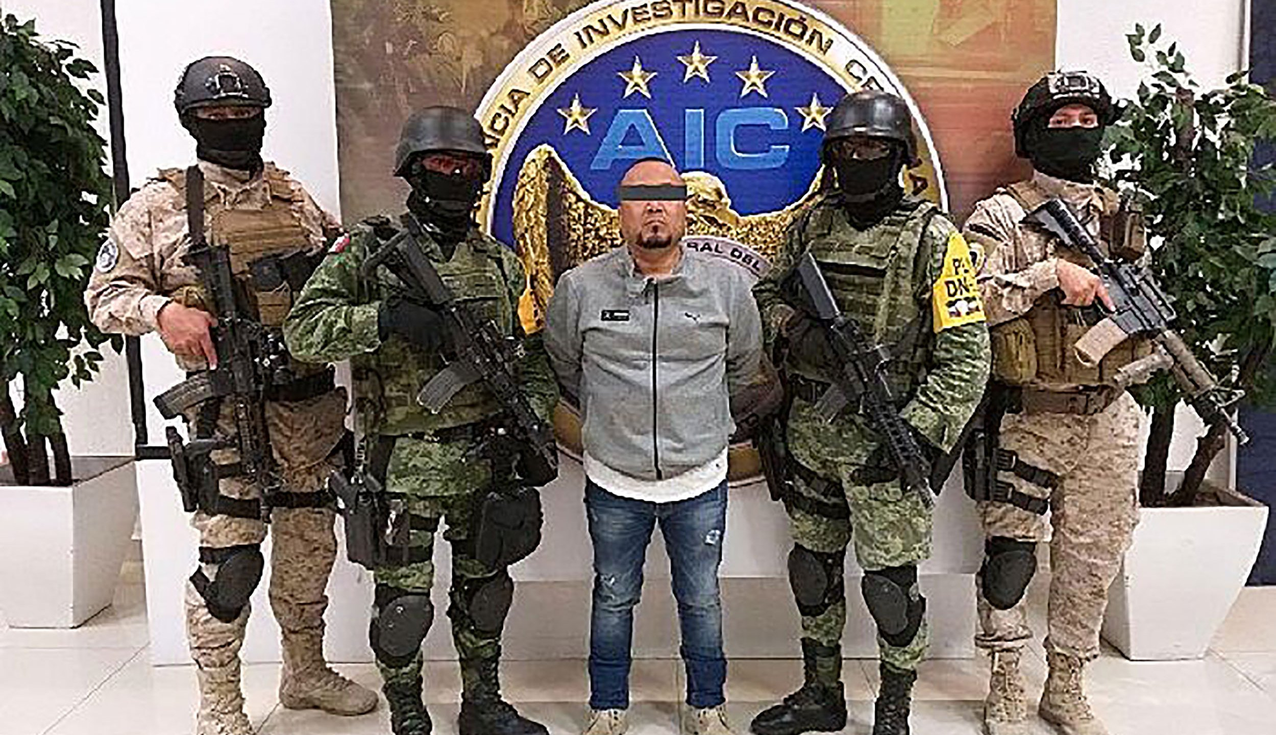 "Mexican security forces on Aug. 2, 2020, arrested the alleged leader of the Santa Rosa de Lima Cartel, José Antonio Yépez Ortiz, commonly known as ""El Marro,"" or ""The Sledgehammer.""(GUANAJUATO STATE ATTORNEY'S OFFICE/HANDOUT/EPA-EFE/Shutterstock via CNN)"