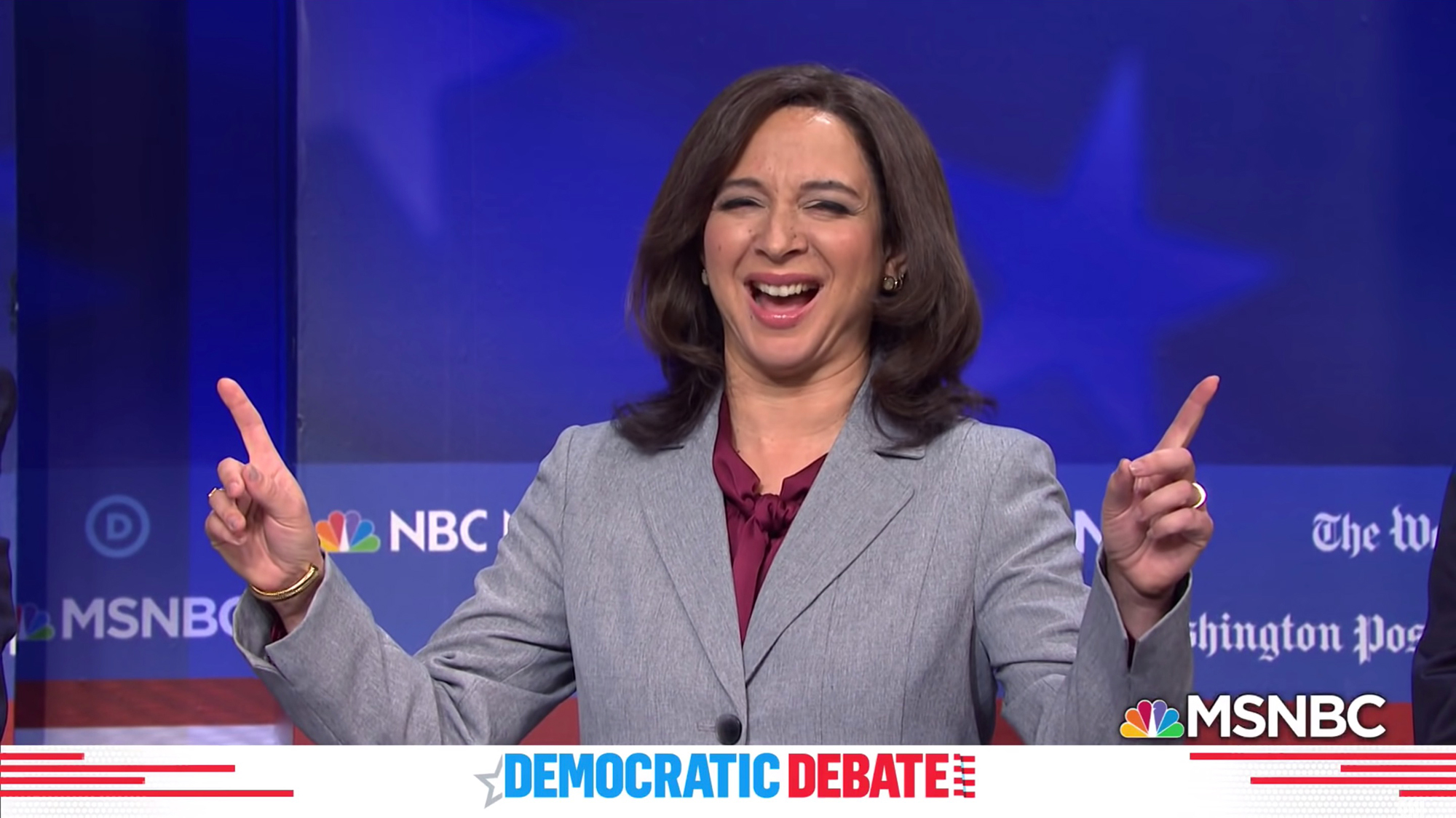 "Maya Rudolph has been nominated for an Emmy for her portrayal of Sen. Harris on ""Saturday Night Live."" (Saturday Night Live)"