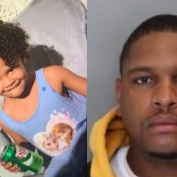 San Diego police released these photos of Charli-Fae Harris and her father, Lafayette Harris on Aug. 3, 2020.(San Diego Police Department)
