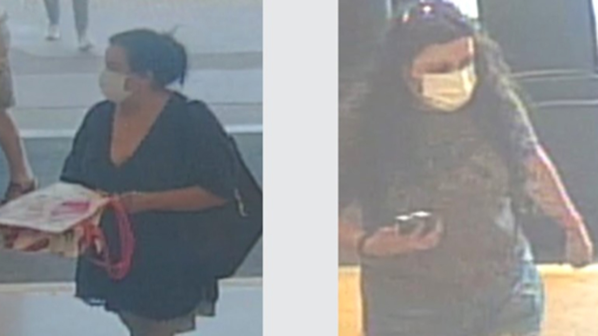 The Los Angeles County Sheriff's Department released images of the suspects on Aug. 13, 2020.