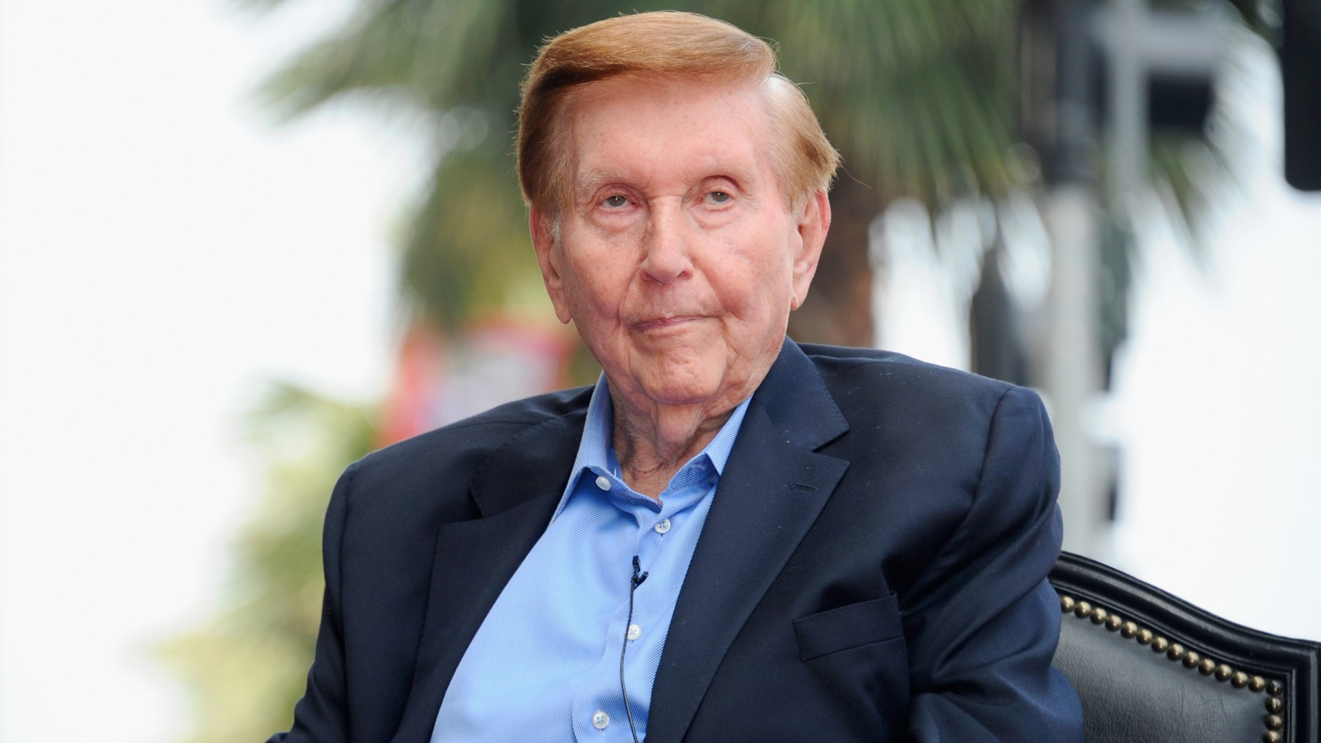 Execitve Chairman and CEO of Viacom and CBS Corporation Sumner Redstone attends a ceremony honoring him with the 2,467th star on the Hollywood Walk of Fame on March 30, 2012 in Hollywood. (Alberto E. Rodriguez/Getty Images)