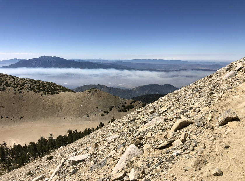 The San Gorgonio Wilderness is shown in an undated photo. (Mary Forgione / Los Angeles Times)