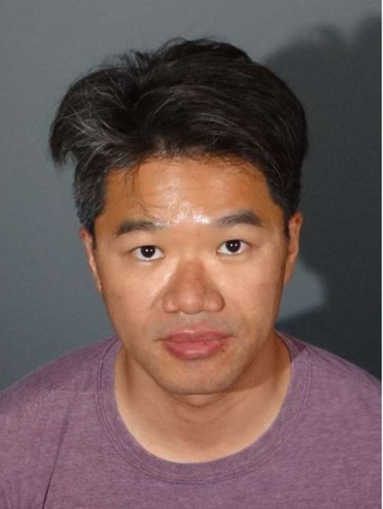 Jonathan Tsai is seen in an undated booking photo released Aug. 5, 2020, by the Los Angeles County Sheriff's Department.