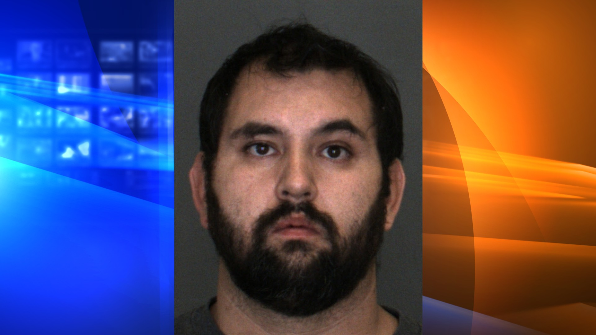 David Kanady is seen in a booking photo released by the San Bernardino County Sheriff's Department.