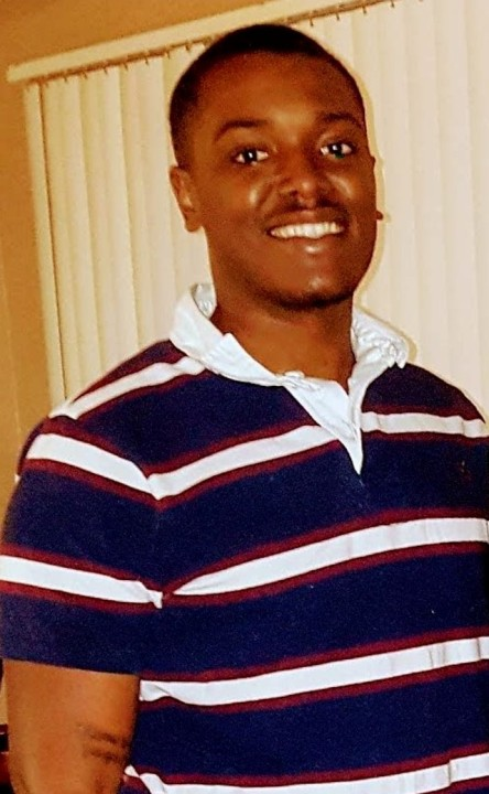 Homicide victim Derrick Carlisle appears in a photo released by the Riverside Police Department on Sept. 20, 2020.