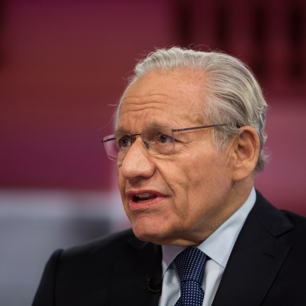 Bob Woodward speaks during an interview on Sept. 10, 2018. (Bank/NBCUniversal via Getty Images via Getty Images)