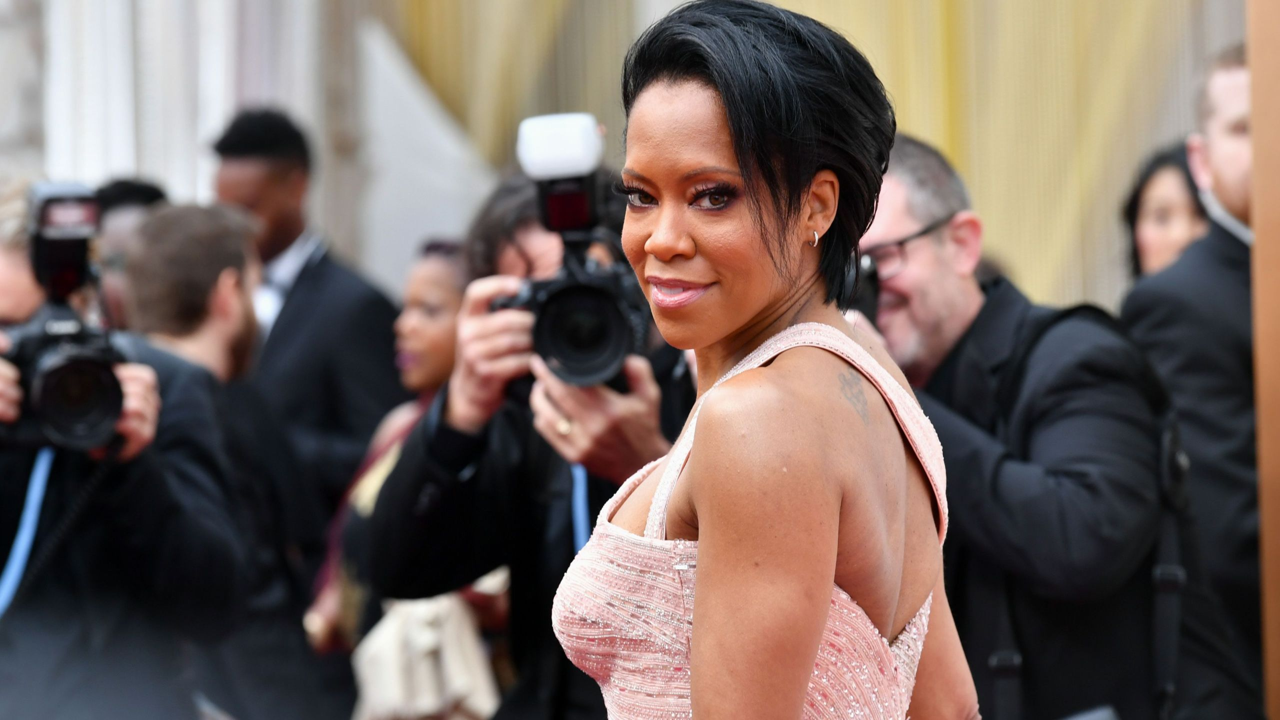 Regina King attends the 92nd Annual Academy Awards at Hollywood and Highland on Feb. 9, 2020 in Hollywood. (Amy Sussman/Getty Images)