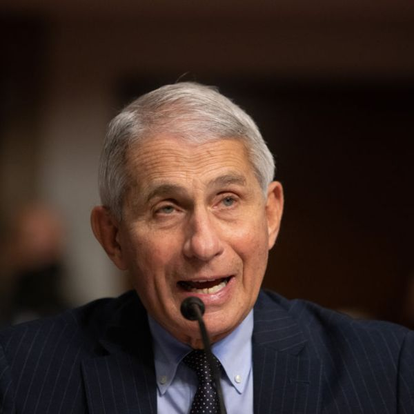 Anthony Fauci, director of National Institute of Allergy and Infectious Diseases at NIH, testifies at a Senate Health, Education, and Labor and Pensions Committee on Capitol Hill, on Sept. 23, 2020 in Washington, DC. (Graeme Jennings- Pool/Getty Images)