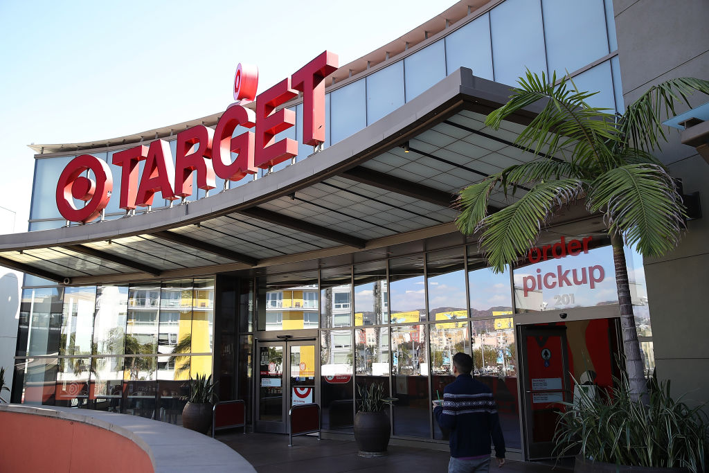 The exterior of a Target store on February 28, 2017 in Los Angeles. (Justin Sullivan/Getty Images)