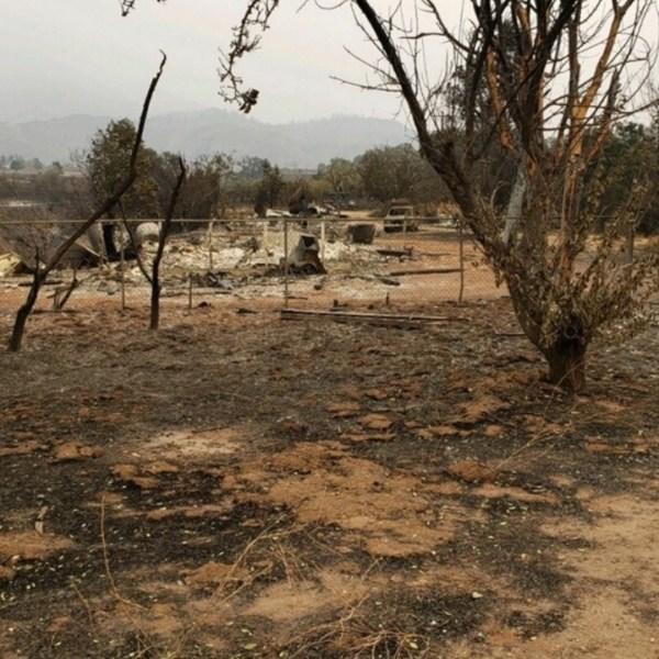 Steve Gardner's home burned down in the El Dorado Fire on Sept. 8, 2020. (GoFundMe)