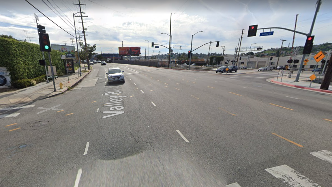 The intersection of Valley Boulevard and Boca Avenue is seen in a Street View image from Google Maps.