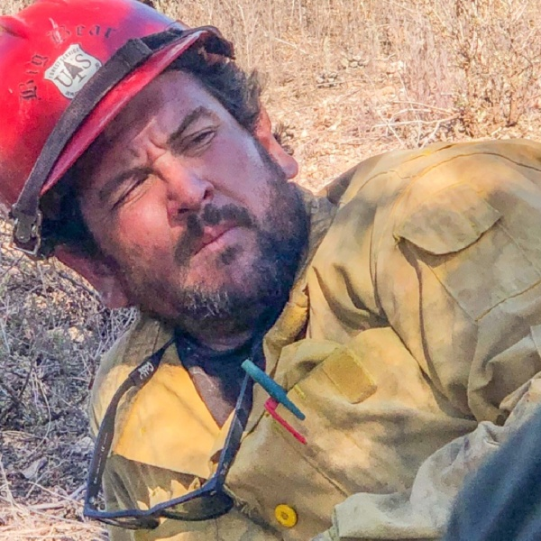 Charles Morton, a firefighter who died while battling the El Dorado Fire, is seen in a photo released by San Bernardino National Forest officials.