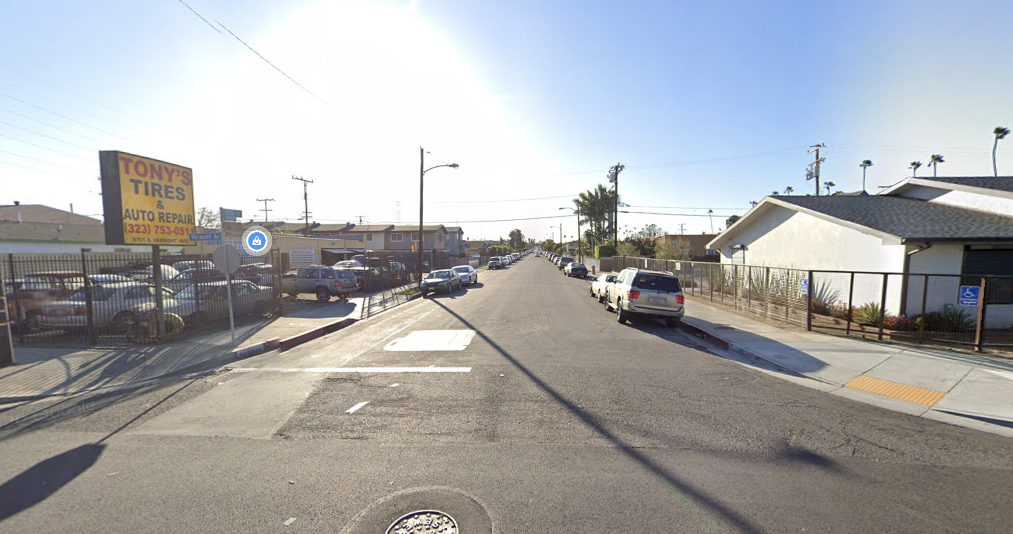 The 1000 block of West 97th Street in South L.A. is seen in an undated photo from Google Maps.