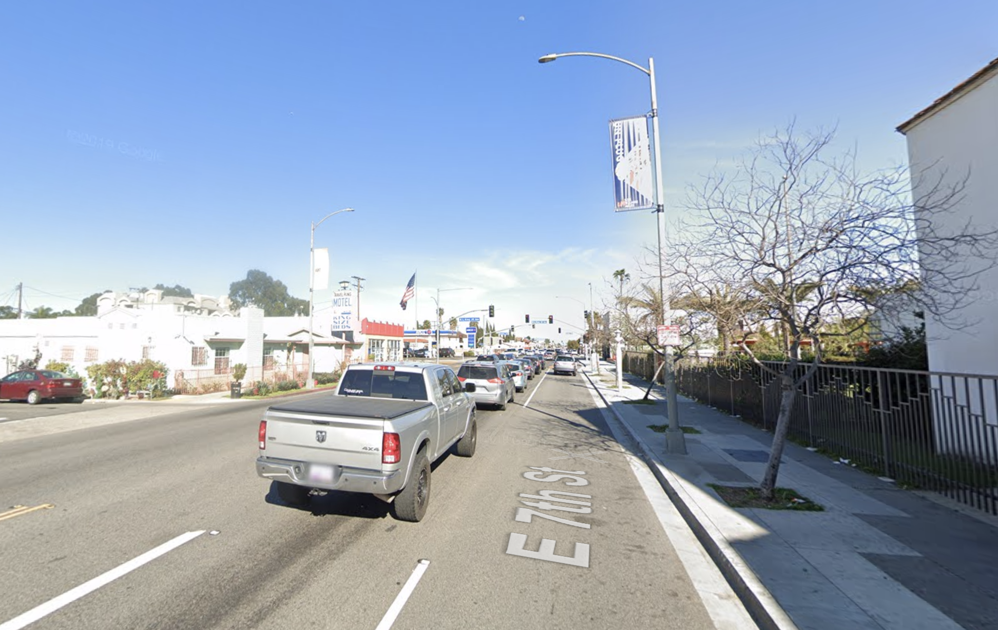 The 800 block of East 7th Street in Long Beach appears in this image from Google Maps.