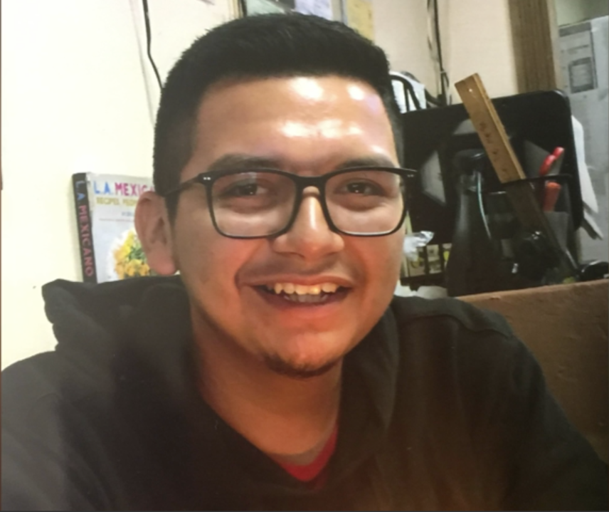 Juan Carlos Hernandez, 21, is seen in an undated photo provided by his family after he went missing on Sept. 22, 2020.