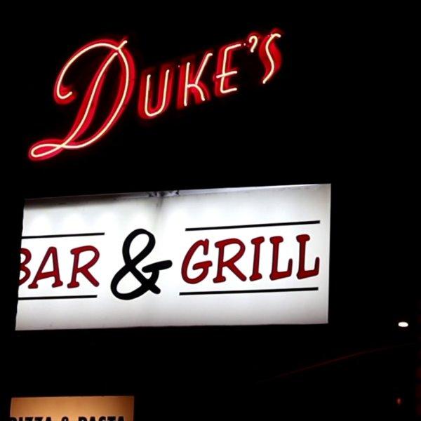Duke's Bar & Grill was the scene of a fatal shooting on Sept. 13, 2020. (OnScene TV)