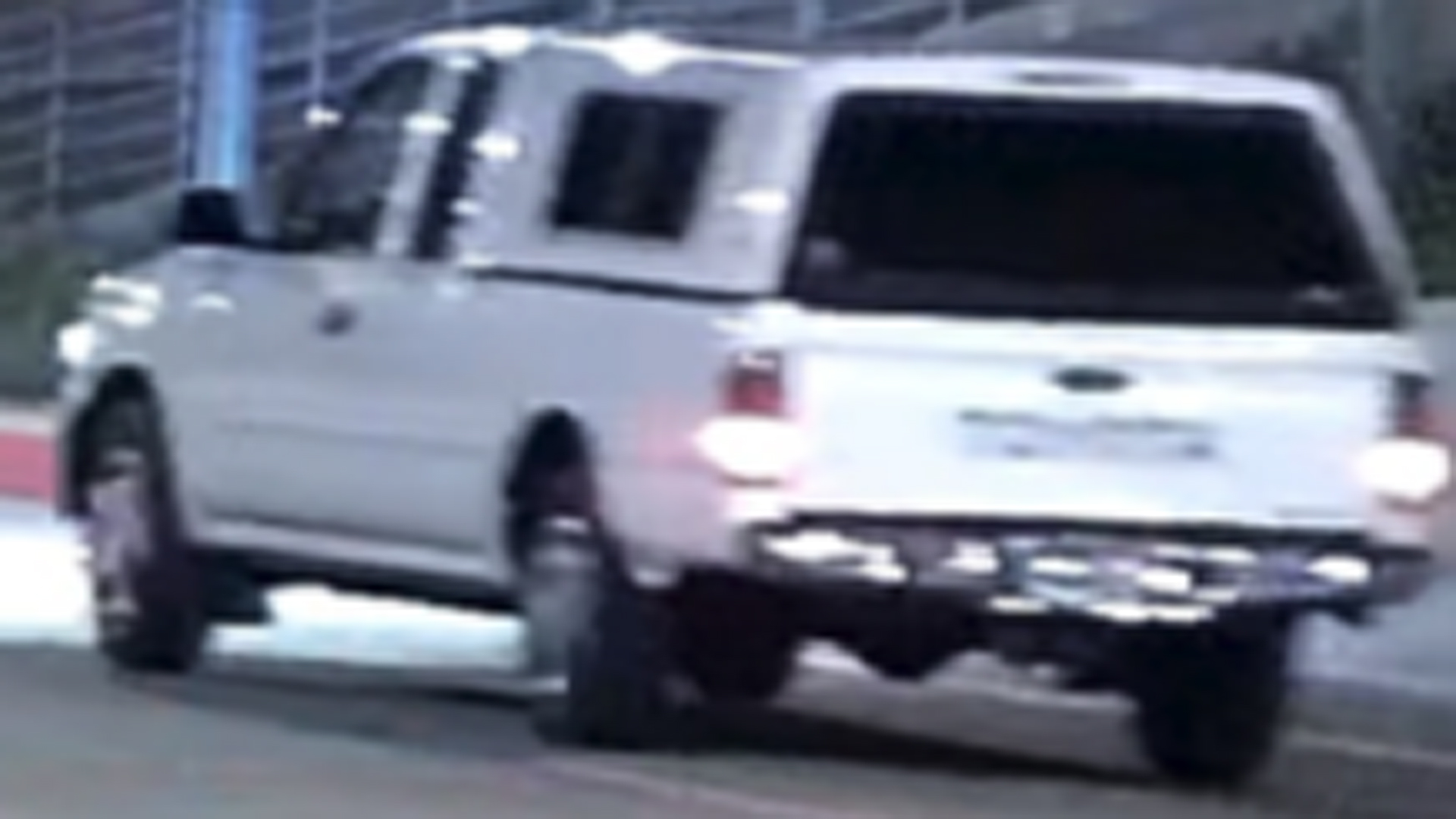A truck involved in a road-rage shooting in Glendale is shown in a photo provided by police on Sept. 24, 2020.