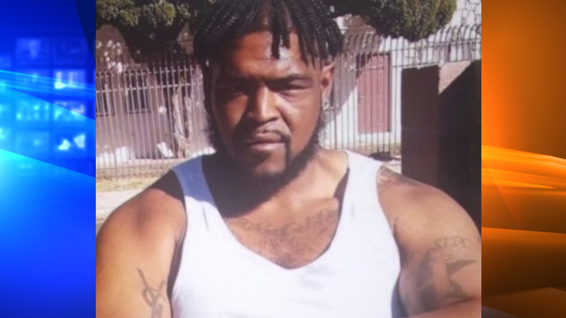 Dijon Kizzee is seen in an undated photo shared to KTLA by his family.