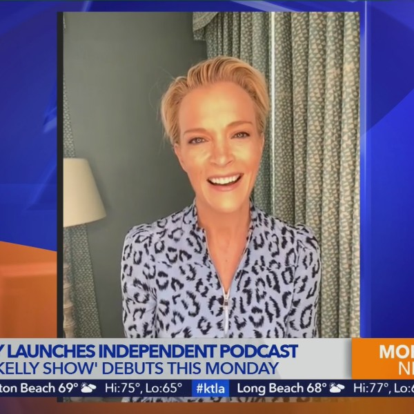 Megyn Kelly discusses her new independent podcast