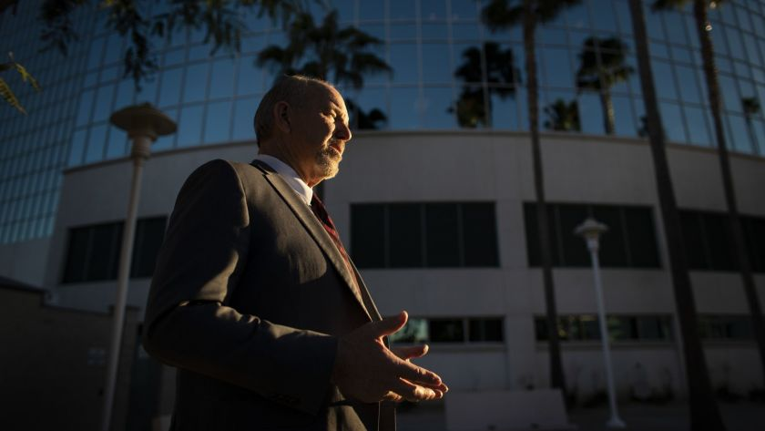 Supervisor Jeff Hewitt, who's proposing new guidelines to reopen Riverside County at a quicker pace than the state allows, is seen in an undated photo. (Gina Ferazzi / Los Angeles Times)