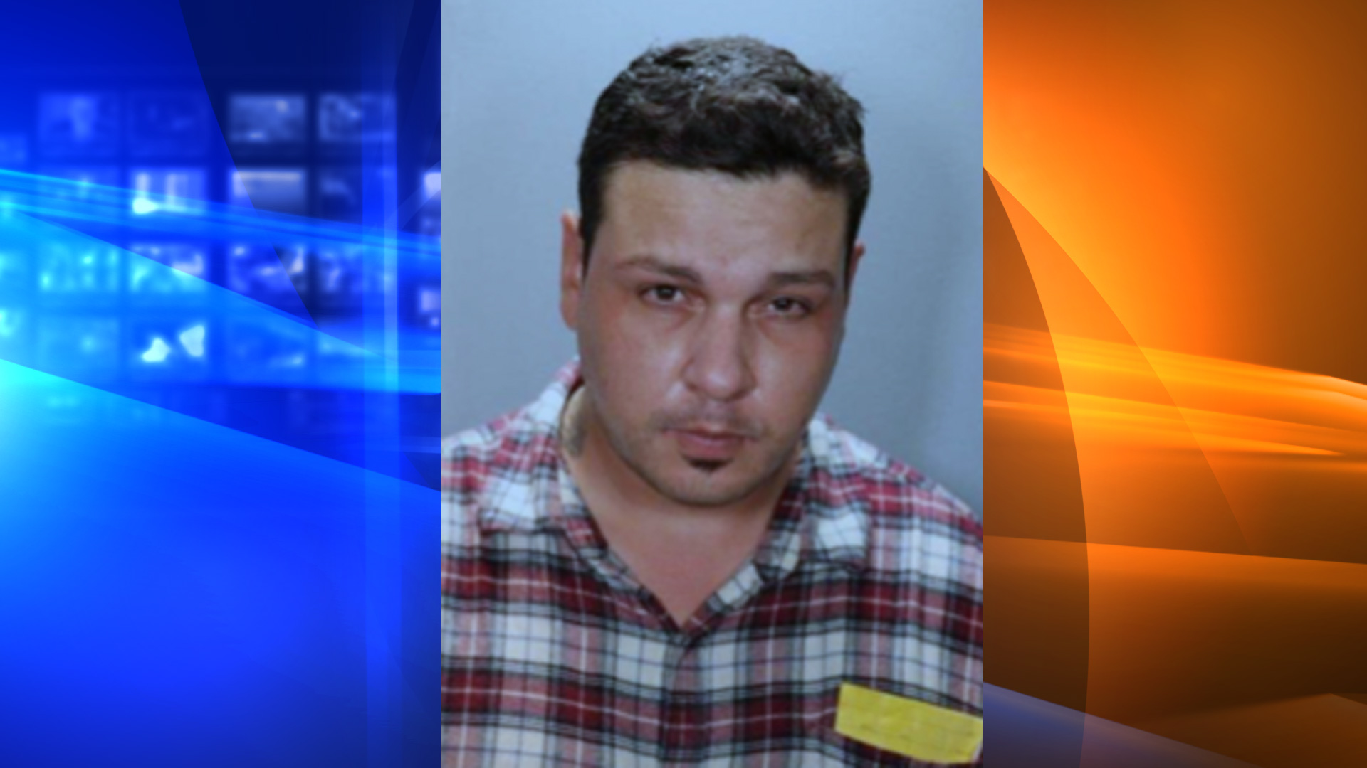 Joshua Russell Callihan is seen in a photo released by the Tustin Police Department on Sept. 14, 2020.