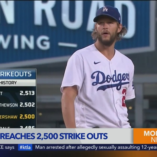 Sports Report: JR Jackson on Kershaw strike out record and more