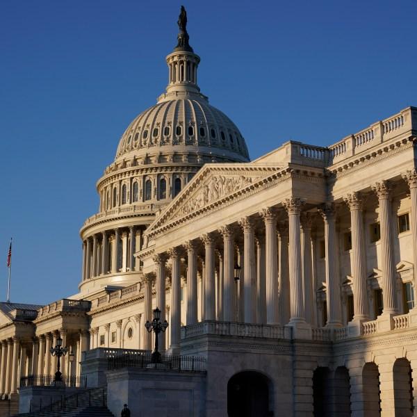 The U.S. Capitol is seen in Washington, Monday, Oct. 5, 2020. (AP Photo/J. Scott Applewhite))