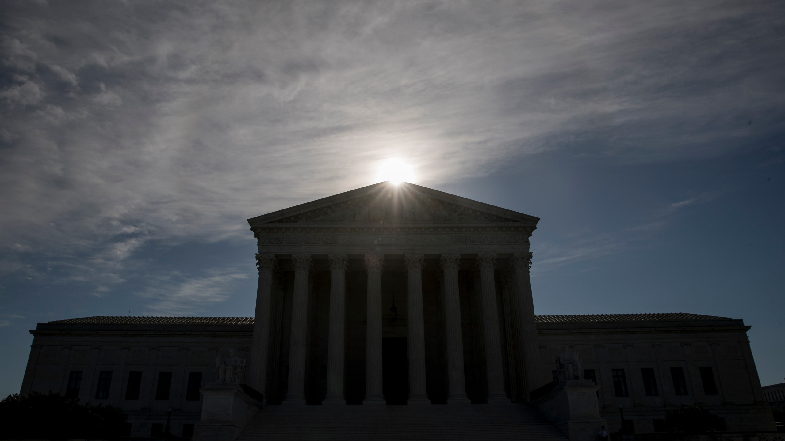 This May 4, 2020, file photo shows the Supreme Court building in Washington. (Andrew Harnik/AP Photo)