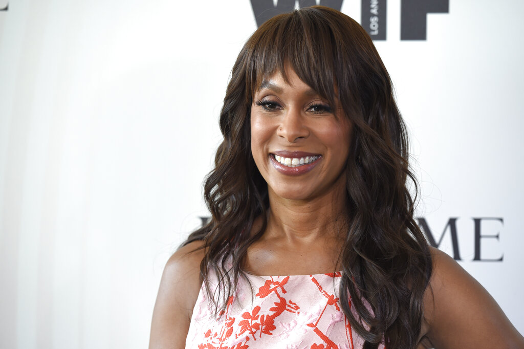 In this June 13, 2018 file photo, Channing Dungey arrives at the Women In Film Crystal and Lucy Awards in Beverly Hills, Calif. Dungey has been named chairman, Warner Bros. Television Group, starting her tenure at the studio early next year. (Chris Pizzello/Invision/AP, File)