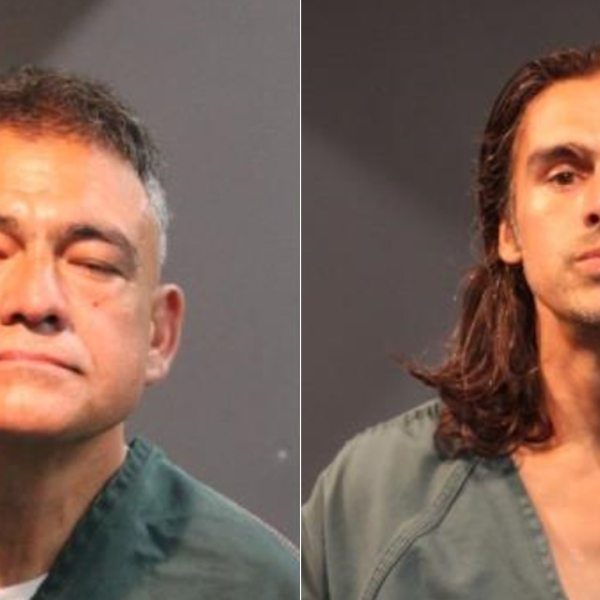 Sergio Magaña Arechiga (left) and Jaime Magaña Arechiga (right) are shown in photos released by the Santa Ana Police Department in 2020.