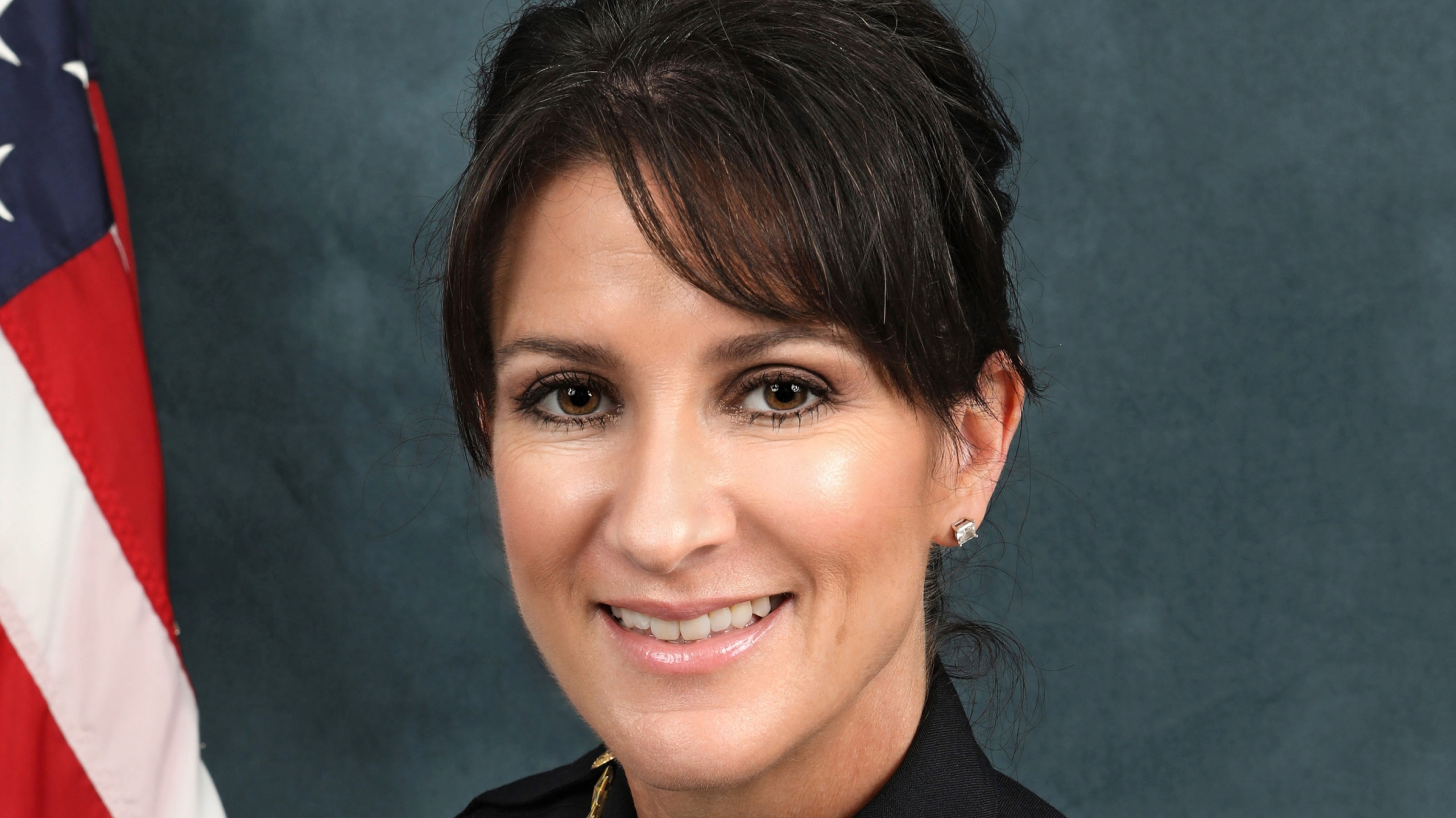 Santa Monica police Chief Cynthia Renaud is seen in her official portrait from the department's website.