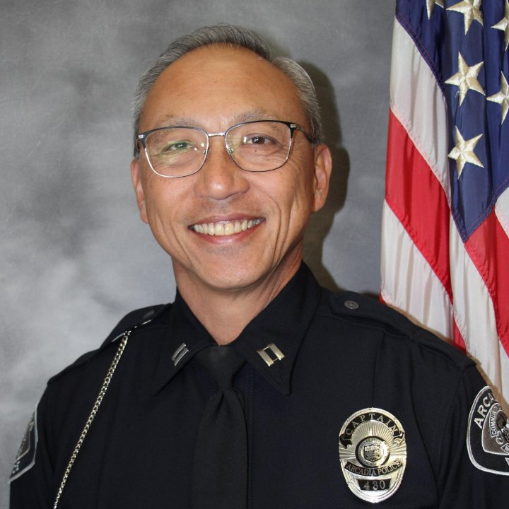 Capt. Roy Nakamura is seen in a photo released by the city of Arcadia.