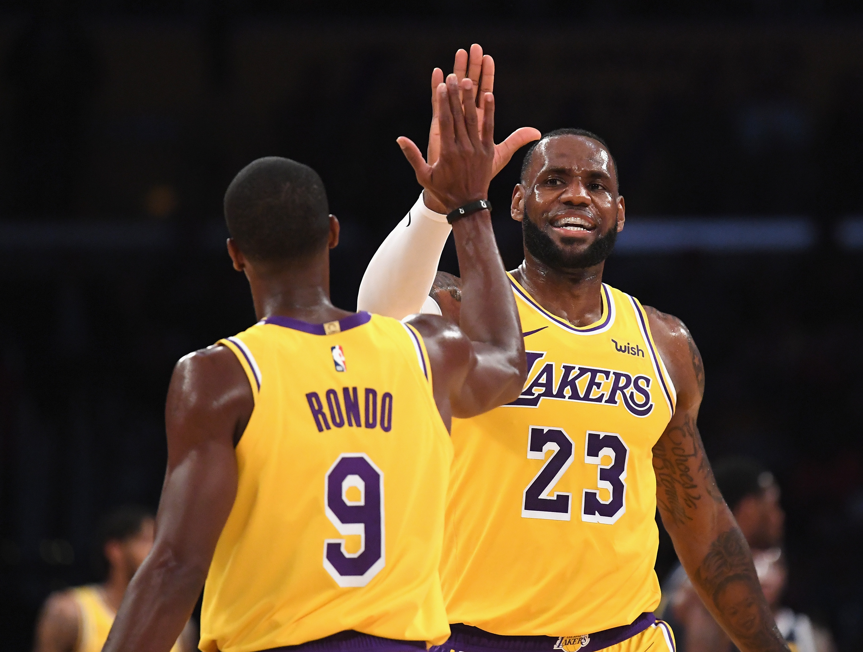 brink of getting Lakers rings together