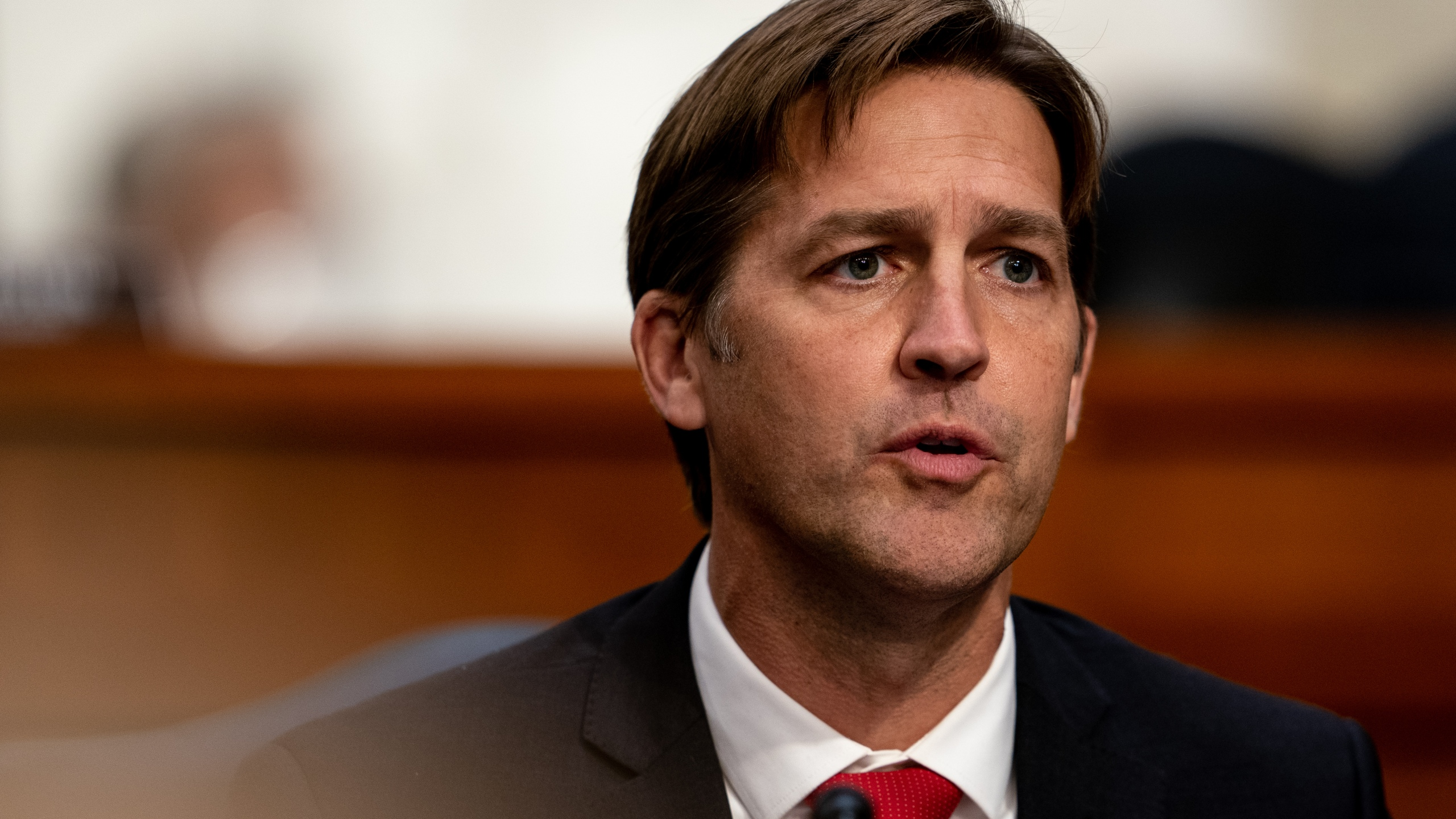U.S. Sen. Ben Sasse (R-NE) speaks during Supreme Court Justice nominee Judge Amy Coney Barrett's Senate Judiciary Committee confirmation hearing for Supreme Court Justice in the Hart Senate Office Building on October 12, 2020 in Washington, DC. (Erin Schaff-Pool/Getty Images)