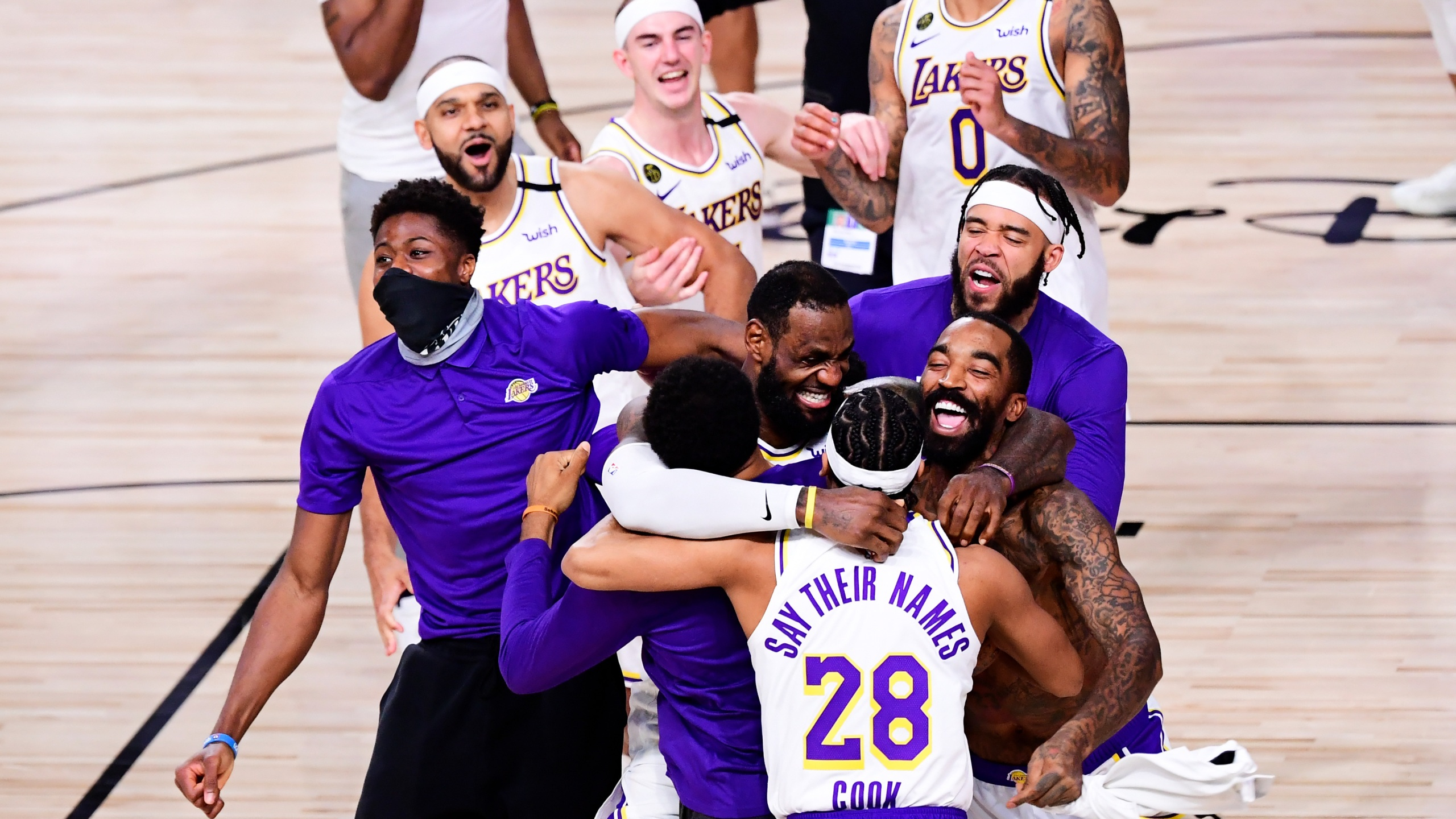 No L.A. victory parade planned yet to celebrate Lakers win amid