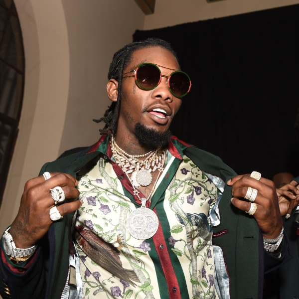 Rapper Offset of Migos attends GQ and Chance The Rapper Celebrate the Grammys in Partnership with YouTube at Chateau Marmont on Feb. 12, 2017 in Los Angeles. (Emma McIntyre/Getty Images for GQ)