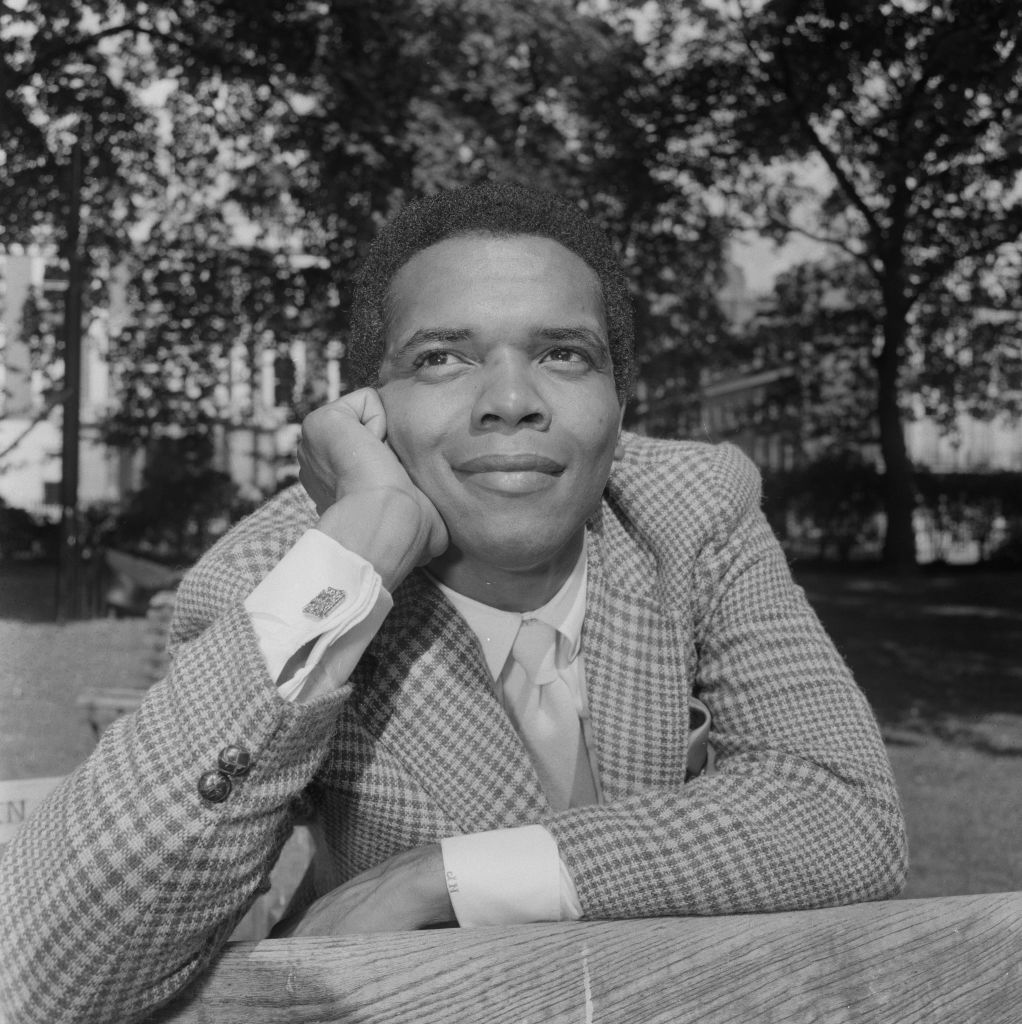 American singer-songwriter Johnny Nash during his first visit to London for various public appearances, 3rd September 1968. (Ron Case/Keystone/Hulton Archive/Getty Images)