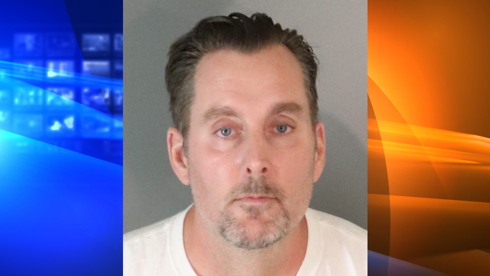 Ralph Leslie Kroll, 49, is seen in an undated booking photo released by the Riverside Police Department on Oct. 30, 2020.