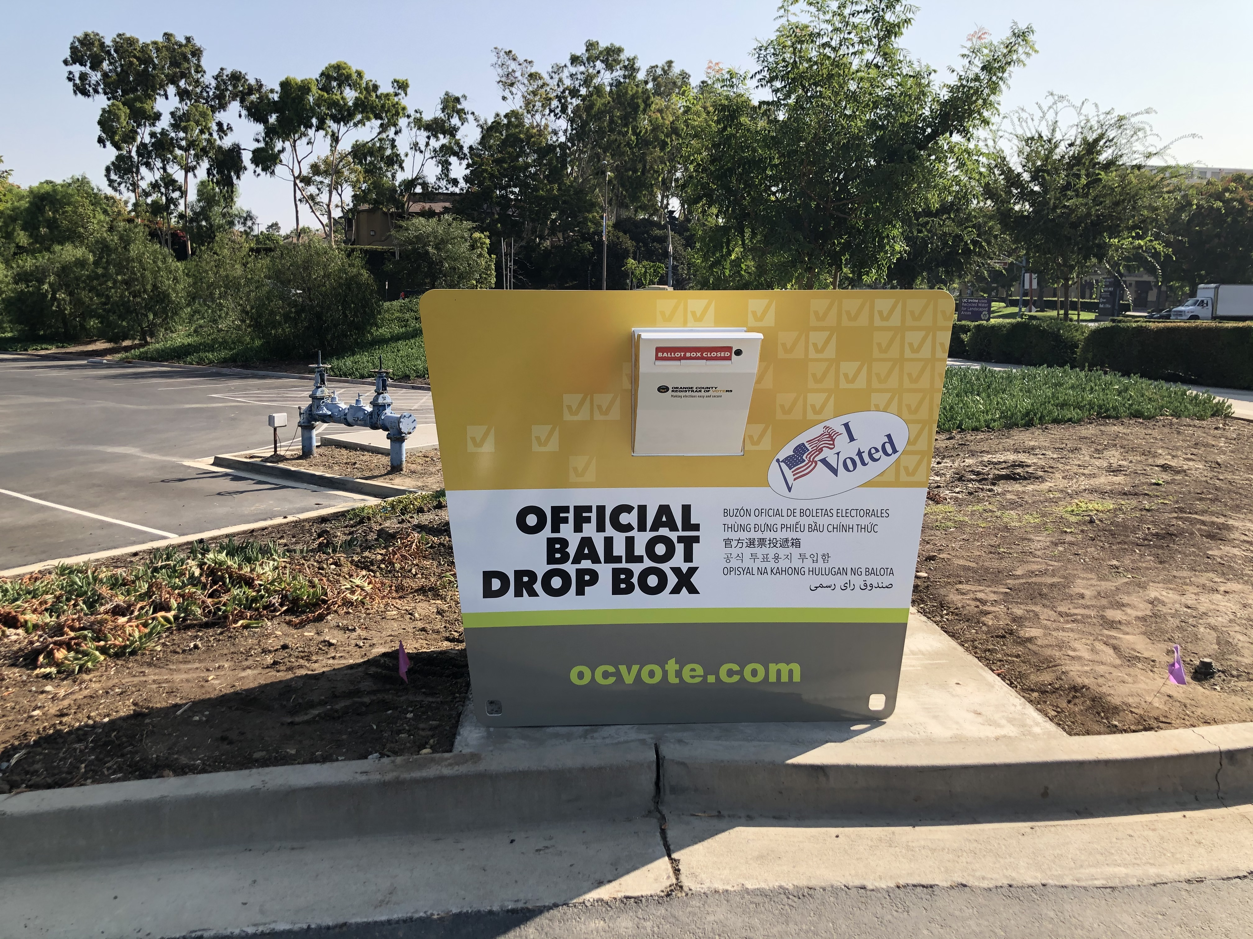 Here Are The Official Ballot Drop Box Sites In L A Orange Ventura San Bernardino And Riverside Counties Ktla