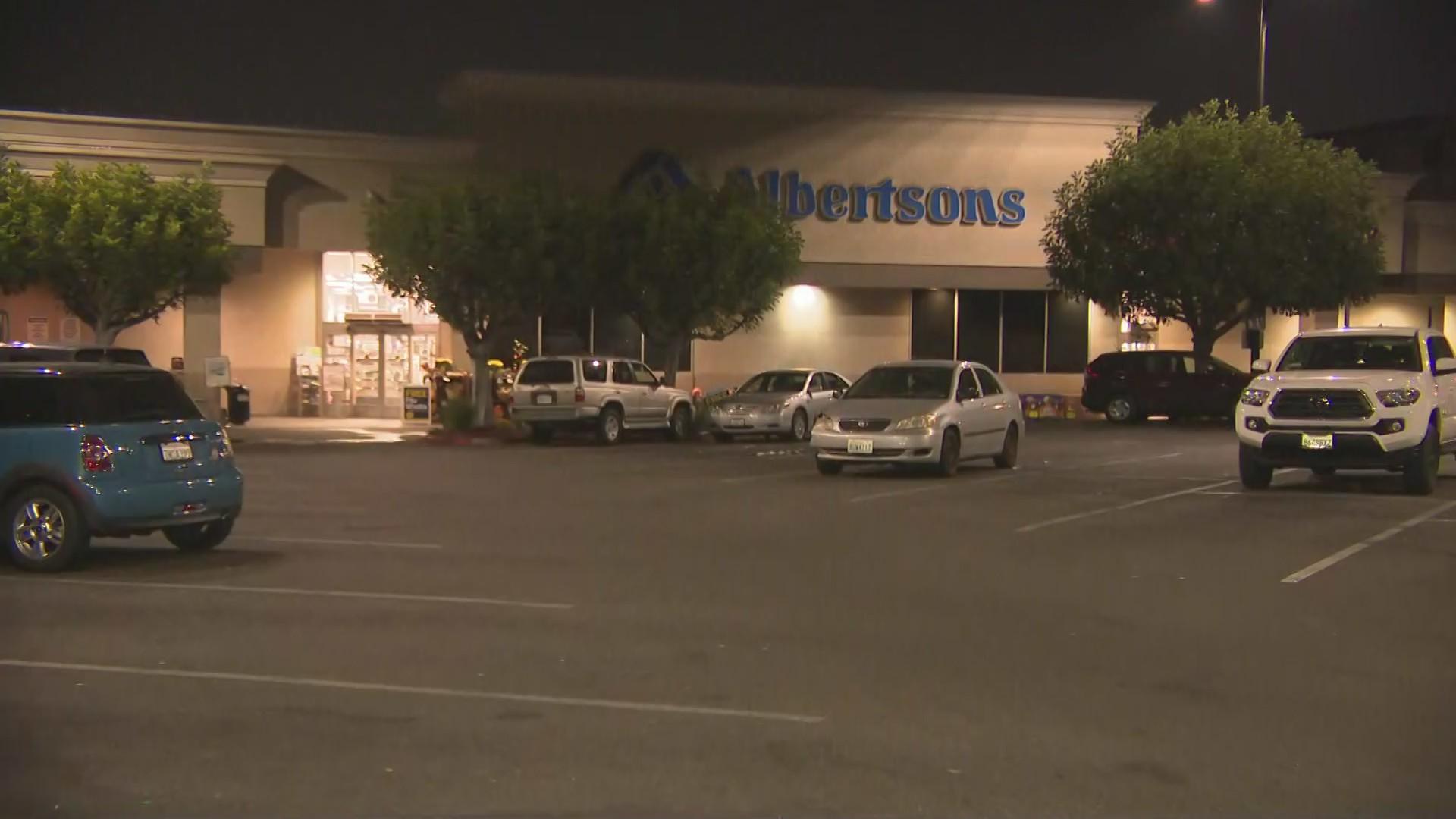 An Albertsons store is Los Feliz is seen in this file photo. (KTLA)