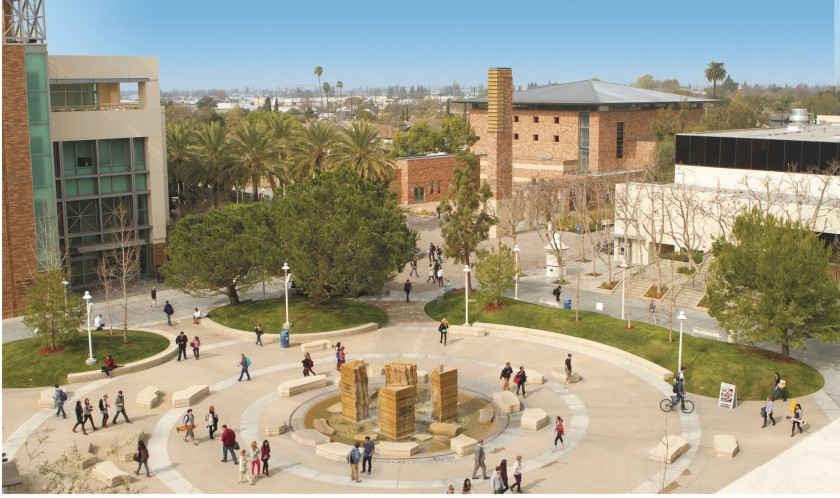 Chapman University is seen in an undated file photo. (Los Angeles Times)