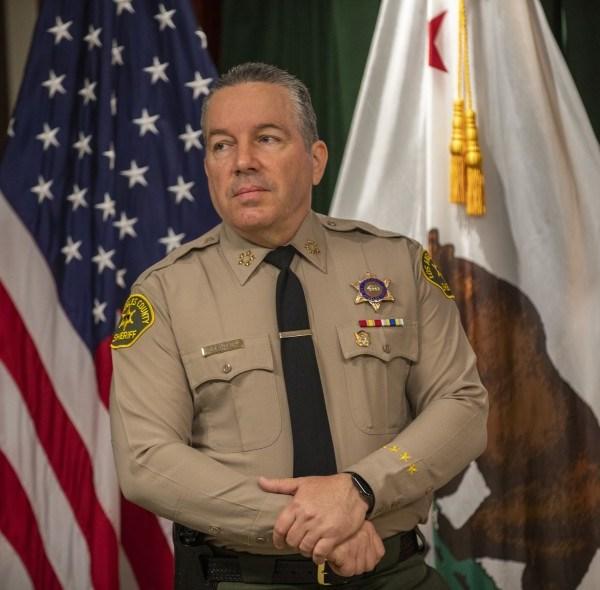 Los Angeles County Sheriff Alex Villanueva is seen in an undated file photo. (Allen J. Schaben / Los Angeles Times)