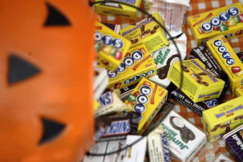 Halloween candy is seen in this undated file photo. (Iris Schneider / Los Angeles Times)