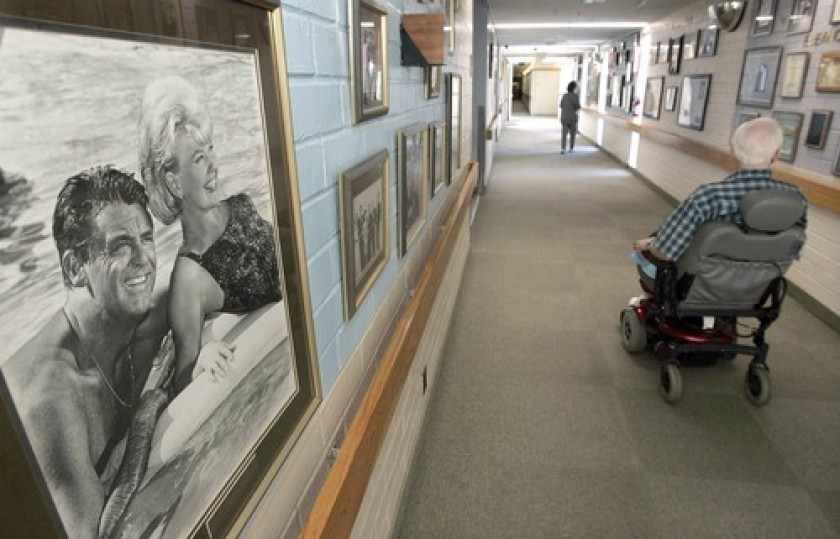 """There's a perennial workforce shortage in nursing homes, and it's been exacerbated"""" by the pandemic, an expert says. (Mel Melcon / Los Angeles Times)"""