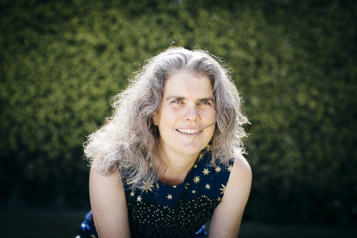 Professor Andrea Ghez appears in a photo released by UCLA. (Elena Zhukova)