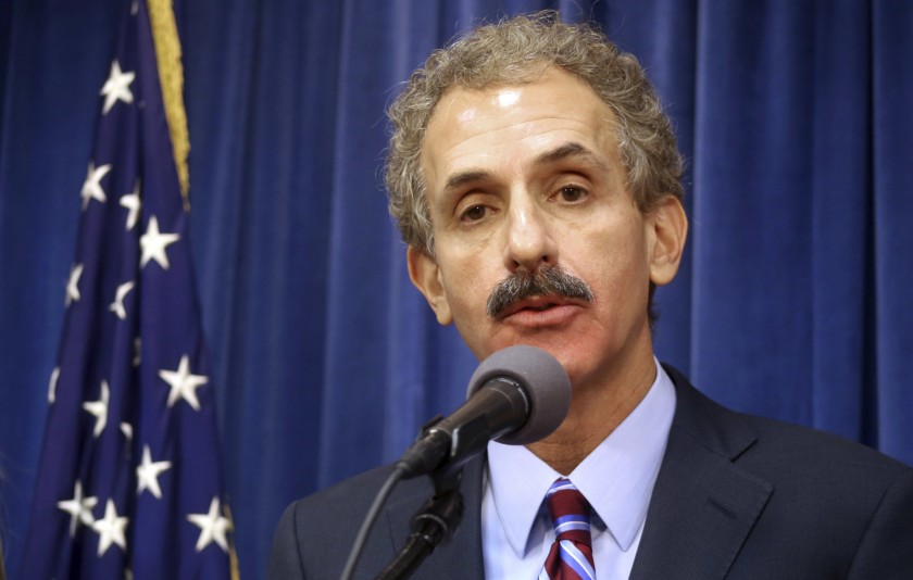 Los Angeles City Atty. Mike Feuer said he opposes any effort to give a tax break to the developer of a hotel planned in Koreatown.(Mike Balsamo/AP)