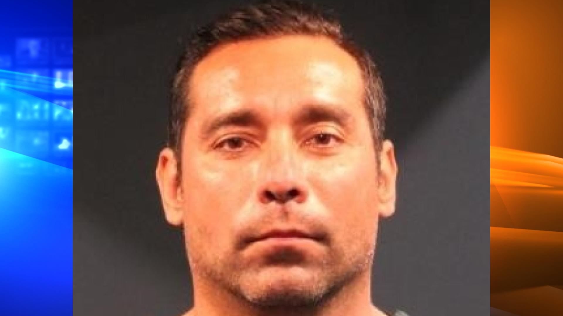 Orange County Sheriff's Deputy Steve Hortz appears in a booking photo released by the agency on Sept. 10, 2020. He was arrested that day on suspicion of burglarizing a Yorba Linda home.