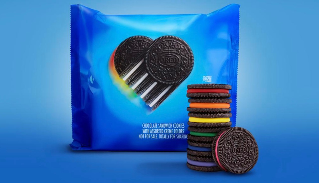 Oreo debuts limited edition rainbow cookies in support of LGBTQ+ community